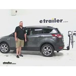 Thule  Hitch Bike Racks Review - 2015 Ford Escape