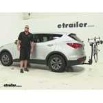 Thule  Hitch Bike Racks Review - 2015 Hyundai Santa Fe