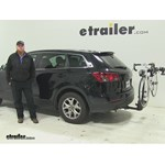 Thule  Hitch Bike Racks Review - 2015 Mazda CX-9