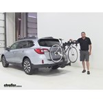 Thule  Hitch Bike Racks Review - 2015 Subaru Outback Wagon