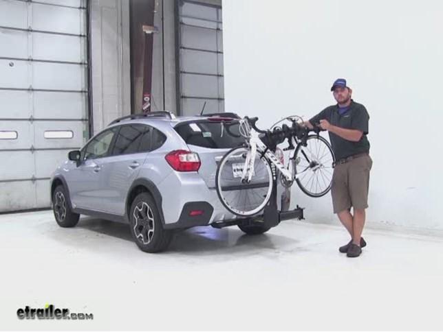 Thule Hitch Bike Racks Review 2015 Subaru Xv Crosstrek Video