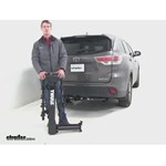 Thule  Hitch Bike Racks Review - 2015 Toyota Highlander