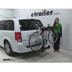 Thule  Hitch Bike Racks Review - 2016 Dodge Grand Caravan