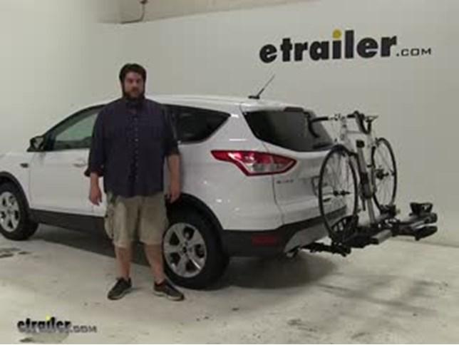 Thule Hitch Bike Racks Review 2016 Ford Escape Video Etrailer Com