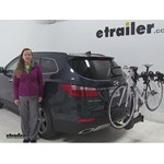 Thule  Hitch Bike Racks Review - 2016 Hyundai Santa Fe