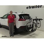 Thule  Hitch Bike Racks Review - 2016 Jeep Cherokee