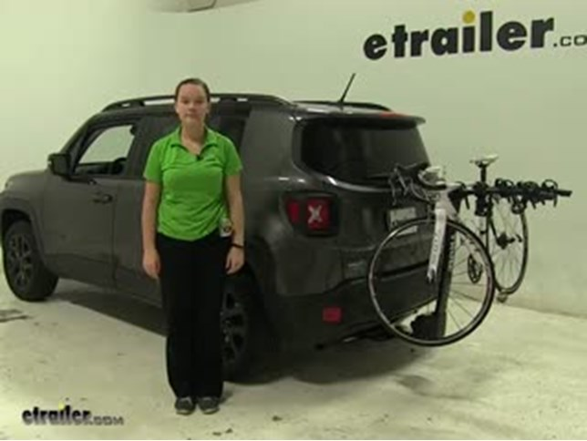Bike Rack For Jeep Renegade >> Thule Hitch Bike Racks Review 2016 Jeep Renegade Video Etrailer Com