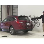 Thule  Hitch Bike Racks Review - 2016 Subaru Outback Wagon