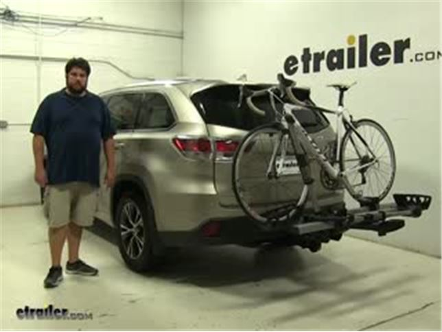 Thule Hitch Bike Racks Review 2016 Toyota Highlander Video Etrailer