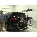 Thule  Hitch Bike Racks Review - 2017 Chrysler Pacifica