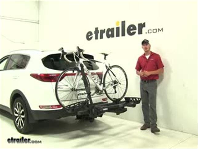 Hitch Bike Rack Reviews >> Thule T2 Pro Xts 2 Bike Platform Rack 1 1 4 Hitches Tilting Silver