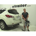 Thule Helium Aero Hitch Bike Racks Review - 2011 Nissan Murano