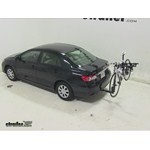 Thule Hitching Post Pro Hitch Bike Rack Review - 2013 Toyota Corolla