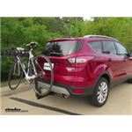 Thule Hitching Post Pro Hitch Bike Rack Review - 2017 Ford Escape