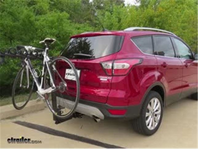 Thule Hitching Post Pro Hitch Bike Rack Review 2017 Ford Escape