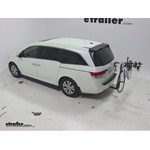 Thule Hitching Post Pro Hitch Bike Racks Review - 2014 Honda Odyssey