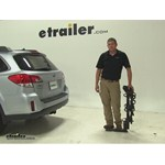 Thule Hitching Post Pro Hitch Bike Racks Review - 2014 Subaru Outback Wagon