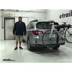 Thule Hitching-Post-Pro Hitch Bike Racks Review - 2015 Subaru Outback Wagon