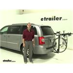 Thule Hitching-Post-Pro Hitch Bike Racks Review - 2016 Chrysler Town and Country