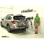 Thule Hitching-Post-Pro Hitch Bike Racks Review - 2016 Subaru Outback Wagon
