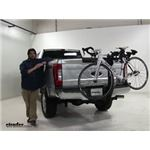 Thule Hitching-Post-Pro Hitch Bike Racks Review - 2017 Ford F-250 Super Duty