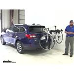 Thule Hitching-Post-Pro Hitch Bike Racks Review - 2017 Subaru Outback Wagon