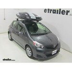 Thule Hyper XL Rooftop Cargo Box Review - 2014 Toyota Yaris