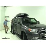 Thule Hyper-XL Roof Box Review - 2012 Toyota 4Runner