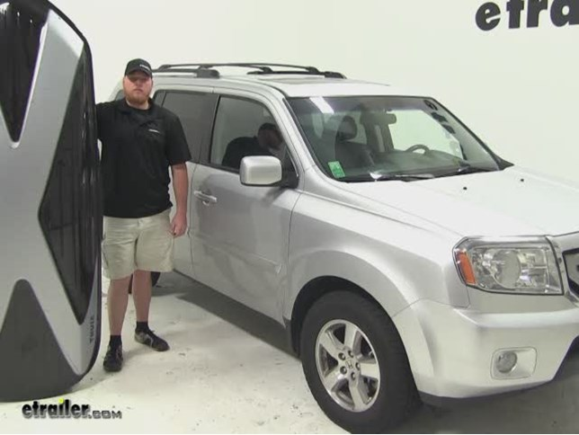 Thule Hyper XL Roof Cargo Carrier Review   2011 Honda Pilot Video |  Etrailer.com