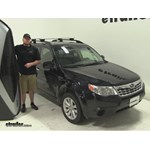 Thule Hyper XL Roof Cargo Carrier Review - 2012 Subaru Forester