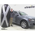 Thule Hyper XL Roof Cargo Carrier Review - 2013 Audi Q5