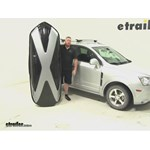 Thule Hyper XL Roof Cargo Carrier Review - 2013 Chevrolet Captiva Sport