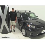 Thule Hyper XL Roof Cargo Carrier Review - 2014 Scion xB