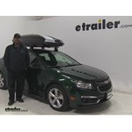 Thule Hyper-XL Roof Cargo Carrier Review - 2015 Chevrolet Cruze