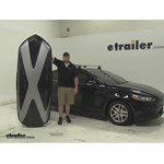 Thule Hyper XL Roof Cargo Carrier Review - 2015 Ford Fusion