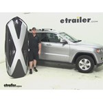 Thule Hyper XL Roof Cargo Carrier Review - 2015 Jeep Grand Cherokee