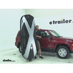 Thule Hyper XL Roof Cargo Carrier Review - 2015 Jeep Patriot