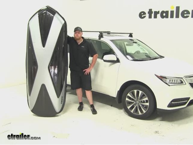 Thule Hyper XL Roof Cargo Carrier Review - 2016 Acura MDX Video | etrailer.com & Thule Hyper XL Roof Cargo Carrier Review - 2016 Acura MDX Video ... Aboutintivar.Com