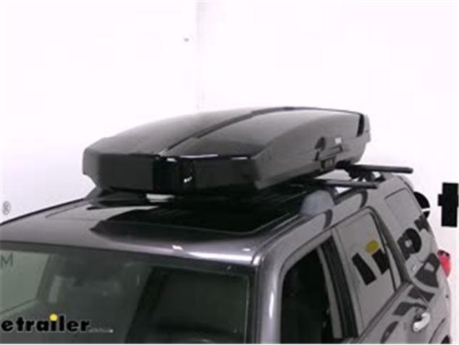 Thule Motion Xt Alpine Rooftop Cargo Box Review Video Etrailer Com