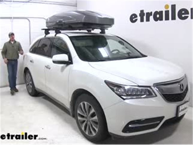 Thule Motion Xt Rooftop Cargo Box Review Video Etrailer Com