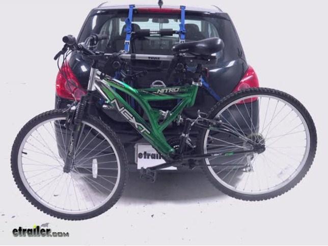 Trunk Mount Bike Rack >> Thule Passage 3 Bike Carrier Trunk Mount