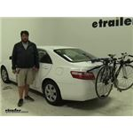 Thule Passage Trunk Bike Racks Review - 2007 Toyota Camry