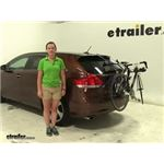 Thule Passage Trunk Bike Racks Review - 2009 Toyota Venza