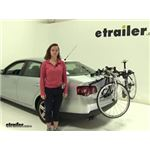 Thule Passage Trunk Bike Racks Review - 2009 Volkswagen Jetta