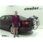 Thule Passage Trunk Bike Racks Review - 2010 Ford Taurus