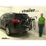 Thule Passage Trunk Bike Racks Review - 2011 Chevrolet Traverse