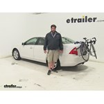 Thule Passage Trunk Bike Racks Review - 2011 Ford Fusion