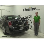 Thule Passage Trunk Bike Racks Review - 2012 Chrysler 300