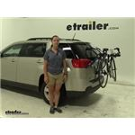 Thule Passage Trunk Bike Racks Review - 2013 GMC Terrain