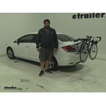 Thule Passage Trunk Bike Racks Review - 2013 Honda Civic